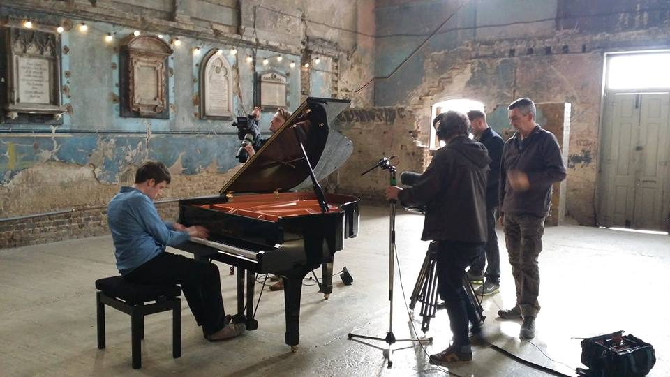 Sky Arts filming